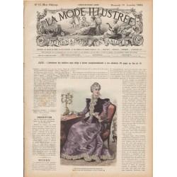 Revue complète de La Mode Illustrée 1897 N°51