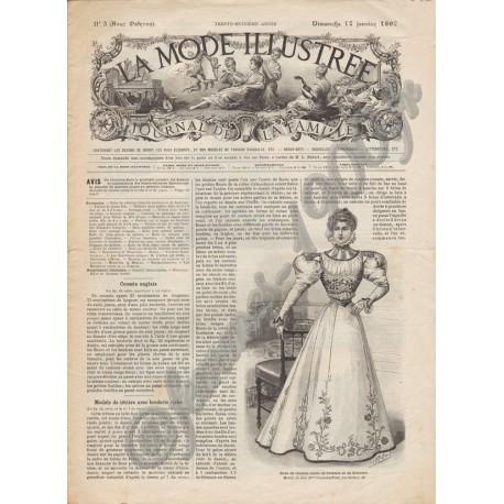 Complete magazine La Mode Illustrée 1897 N°03