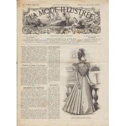 Revue complète de La Mode Illustrée 1897 N°07