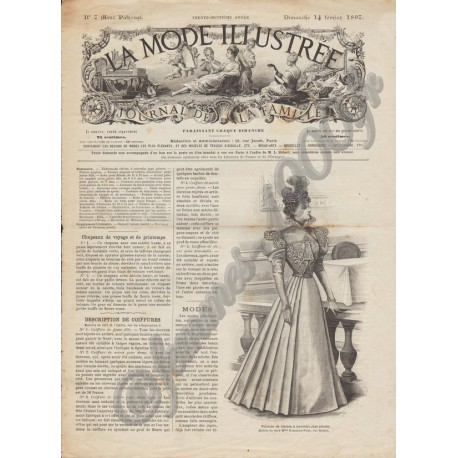 Complete magazine La Mode Illustrée 1897 N°07