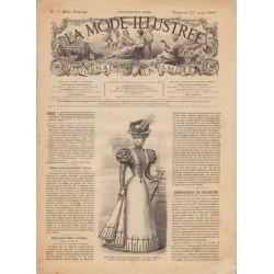 Complete magazine La Mode Illustrée 1897 N°12