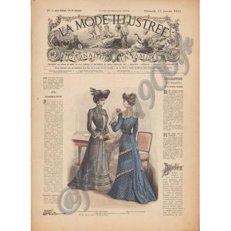 Complete magazine La Mode Illustrée 1902 N°02