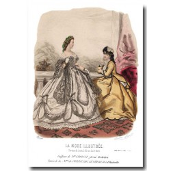 La Mode Illustrée 1864 32