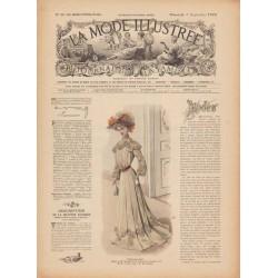 журнал мода La Mode Illustrée 1902 N°36