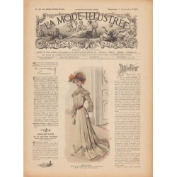 Complete magazine La Mode Illustrée 1902 N°36