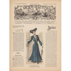 Revue complète de La Mode Illustrée 1902 N°38