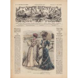 журнал мода La Mode Illustrée 1902 N°19