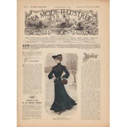 журнал мода La Mode Illustrée 1902 N°51