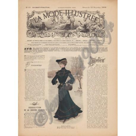 Revue complète de La Mode Illustrée 1902 N°51