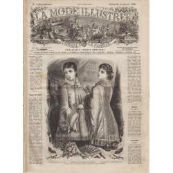 Complete magazine La Mode Illustrée 1880 01