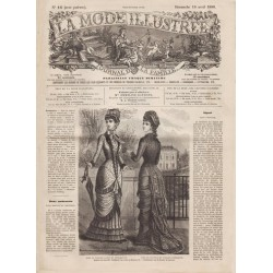 Complete magazine La Mode Illustrée 1880 N°16
