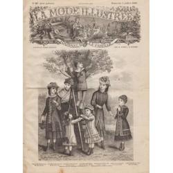 Revue complète de La Mode Illustrée 1880 N°27