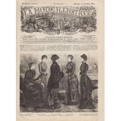 Complete magazine La Mode Illustrée 1880 N°49