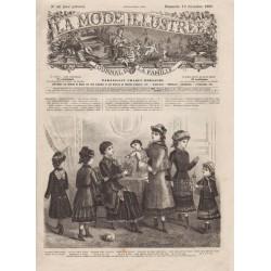 Complete magazine La Mode Illustrée 1880 N°51