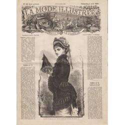 Revue complète de La Mode Illustrée 1880 N°14