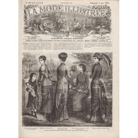 Complete magazine La Mode Illustrée 1880 N°19