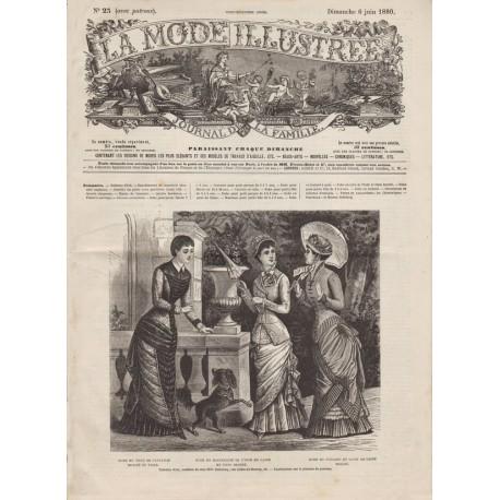 Complete magazine La Mode Illustrée 1880 N°23