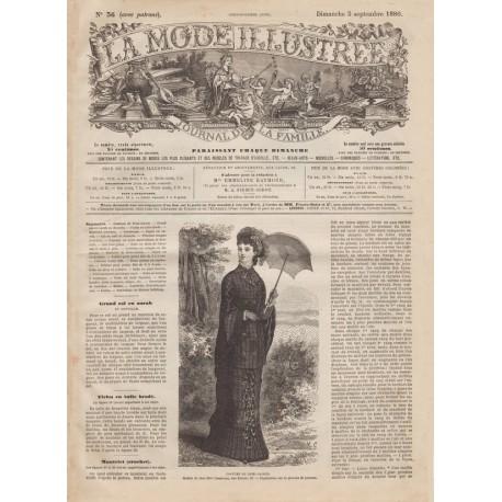 Complete magazine La Mode Illustrée 1880 N°36