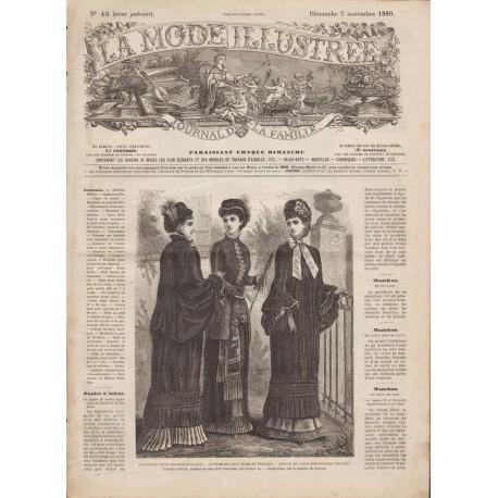 Complete magazine La Mode Illustrée 1880 N°45