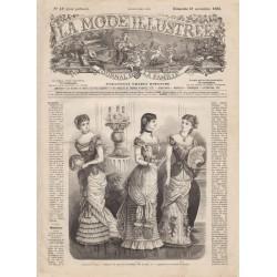 Complete magazine La Mode Illustrée 1880 N°47