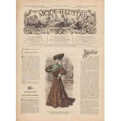 журнал мода La Mode Illustrée 1905 N°03
