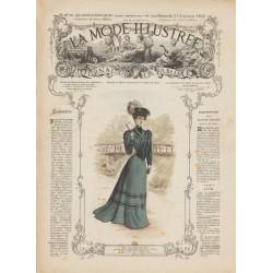 журнал мода La Mode Illustrée 1905 N°38