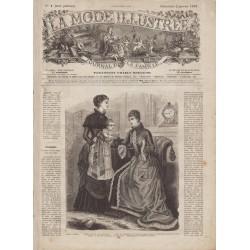 Revue complète de La Mode Illustrée 1881 N°01