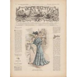 Complete magazine La Mode Illustrée 1905 N°07