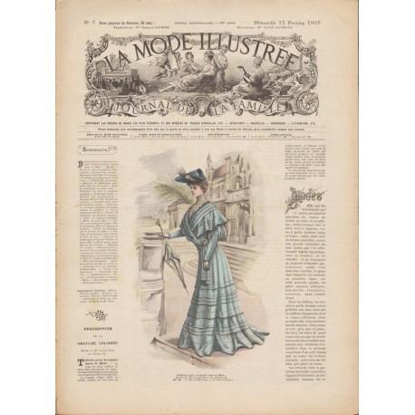 журнал мода La Mode Illustrée 1905 N°07