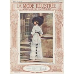 Complete magazine La Mode Illustrée 1911 N°17