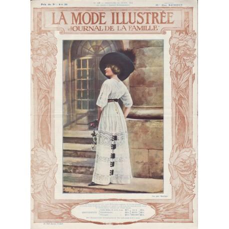 Revue complète de La Mode Illustrée 1911 N°17