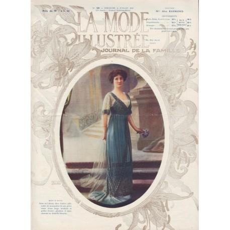 Complete magazine La Mode Illustrée 1911 N°29