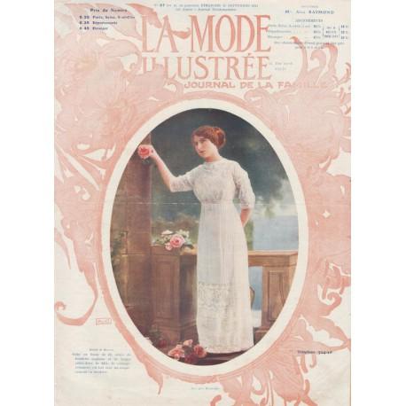 Complete magazine La Mode Illustrée 1911 N°37