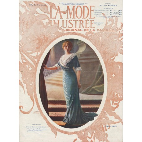 Complete magazine La Mode Illustrée 1911 N°38