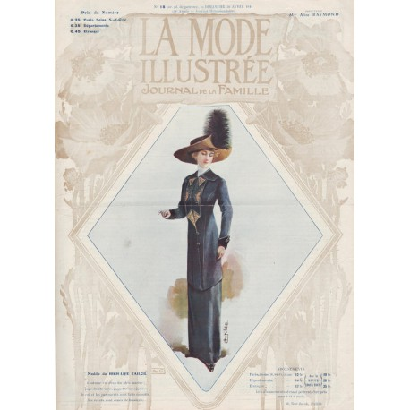 Complete magazine La Mode Illustrée 1911 N°18
