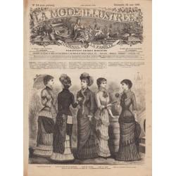 Complete magazine La Mode Illustrée 1881 N°21