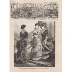 Complete magazine La Mode Illustrée 1881 N°38