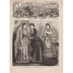 Complete magazine La Mode Illustrée 1881 N°45