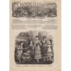 Complete magazine La Mode Illustrée 1881 N°47