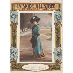Complete magazine La Mode Illustrée 1910 N°03