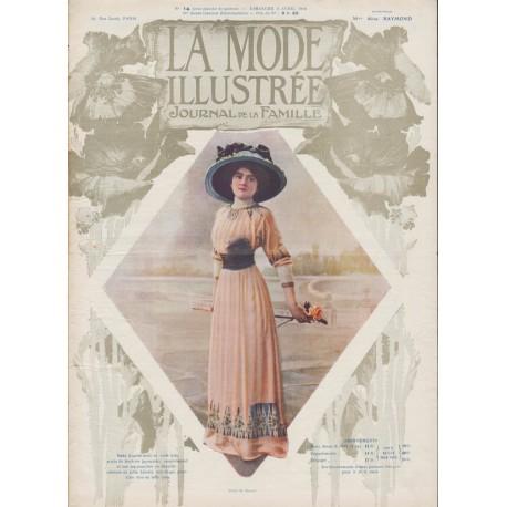 Revue complète de La Mode Illustrée 1910 N°14