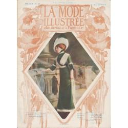 Complete magazine La Mode Illustrée 1911 N°07