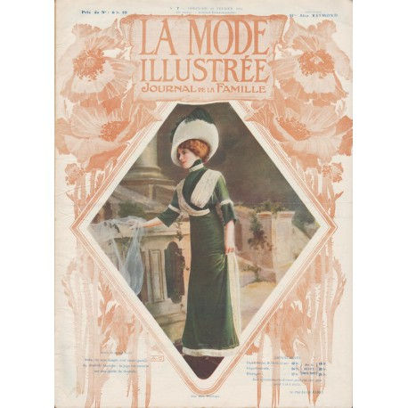 Revue complète de La Mode Illustrée 1911 N°07