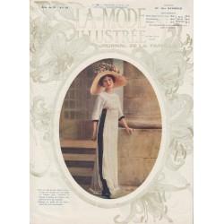 Complete magazine La Mode Illustrée 1911 N°25