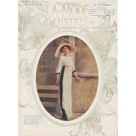 Revue complète de La Mode Illustrée 1911 N°25