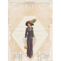 Complete magazine La Mode Illustrée 1911 N°46
