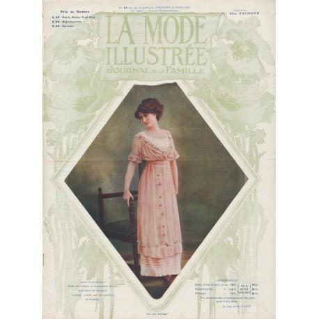 Complete magazine La Mode Illustrée 1911 N°13