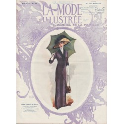 Complete magazine La Mode Illustrée 1911 N°12