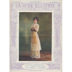 Complete magazine La Mode Illustrée 1911 N°14