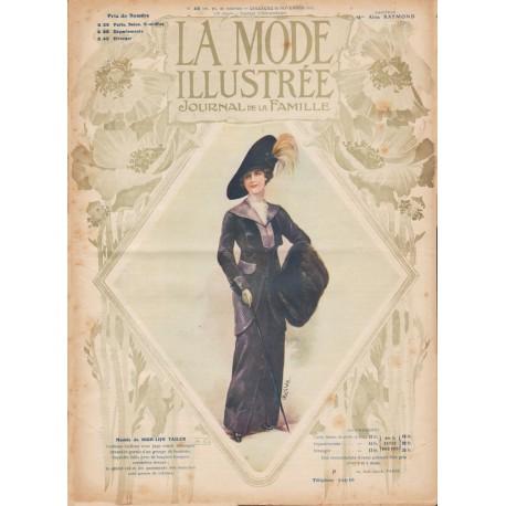Complete magazine La Mode Illustrée 1912 N°45
